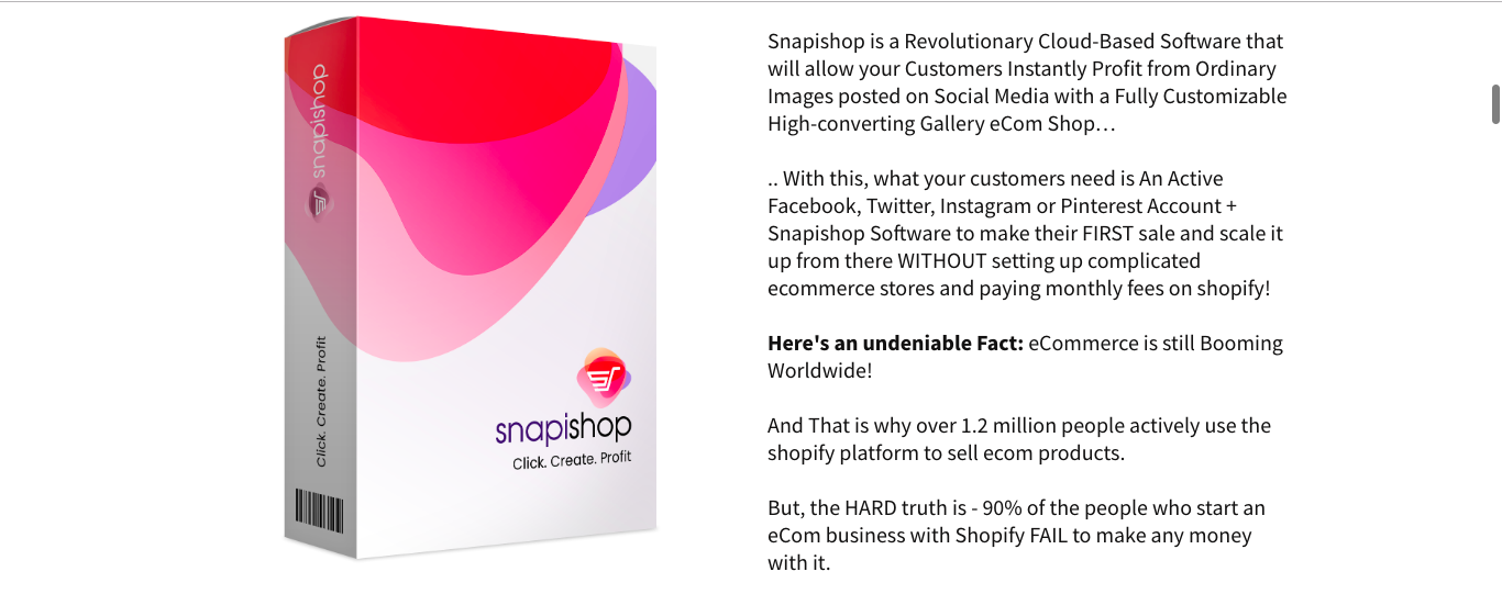 Snapishop Review