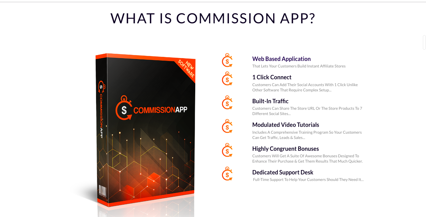 Commission App Review